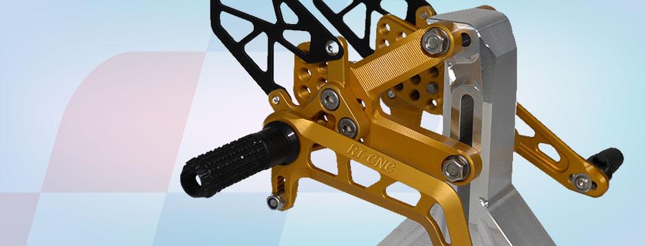 RT-CNC Präzisionsteile für Sportmotorräder
