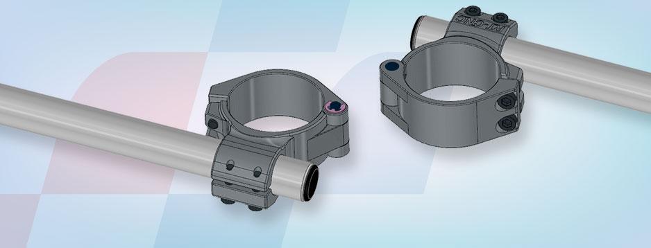 Neuer RT-CNC Lenker für Sportmotorräder